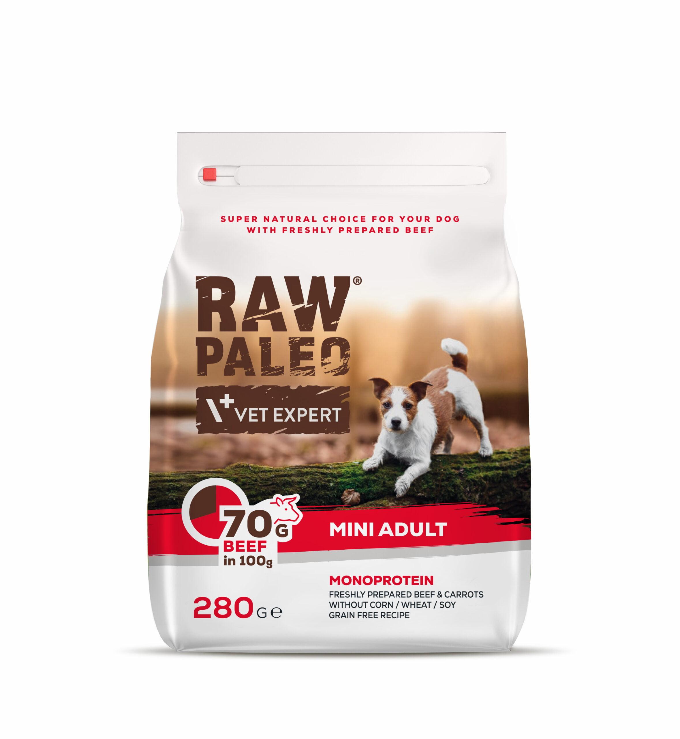 RAW PALEO mini Adult 280g Hundefutter