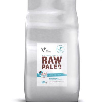 VetExpert Raw Paleo Large Size Puppy 16kg Premium getreidefreies Hundefutter, Alleinfuttermittel, Trockenfutter, Nassfutter, Hundebedarf, Hundenahrung, Hundeernährung