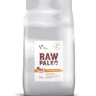 VetExpert Raw Paleo Medium Size Puppy 16kg Premium getreidefreies Hundefutter, Alleinfuttermittel, Trockenfutter, Nassfutter, Hundebedarf, Hundenahrung, Hundeernährung