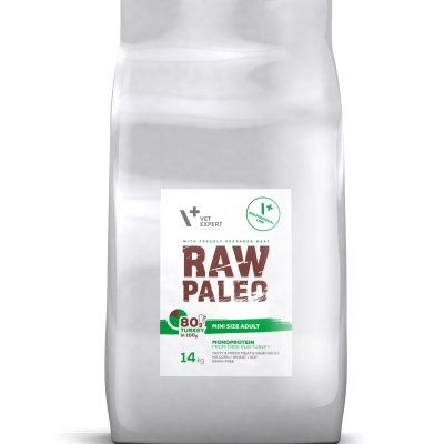 VetExpert Raw Paleo Mini Size Adult 16kg Premium getreidefreies Hundefutter, Alleinfuttermittel, Trockenfutter, Nassfutter, Hundebedarf, Hundenahrung, Hundeernährung