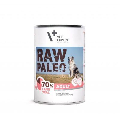 Raw Paleo Hundefutter Nassfutter Lamm- und Kalbfleisch