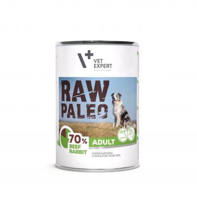 Raw Paleo Hundefutter Nassfutter Rind und Kaninchen