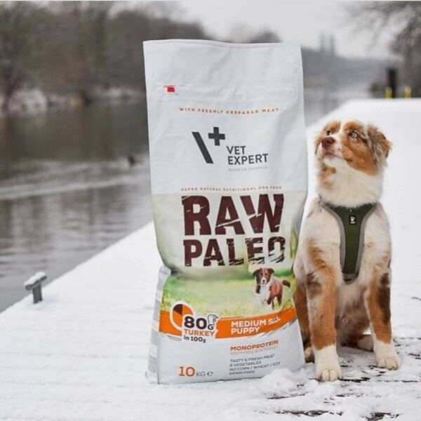 VETEXPERT Hundetrockenfutter - Raw Paleo Puppy Medium 10kg