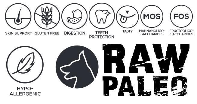 Raw Paleo getreidefreies hundefutter hundetrockenfutter hundenassfutter VetExpert