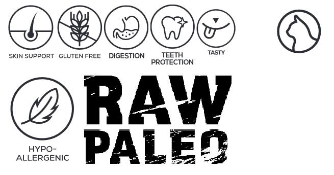 Raw Paleo getreidefreies katzenfutter katzennassfutter VetExpert