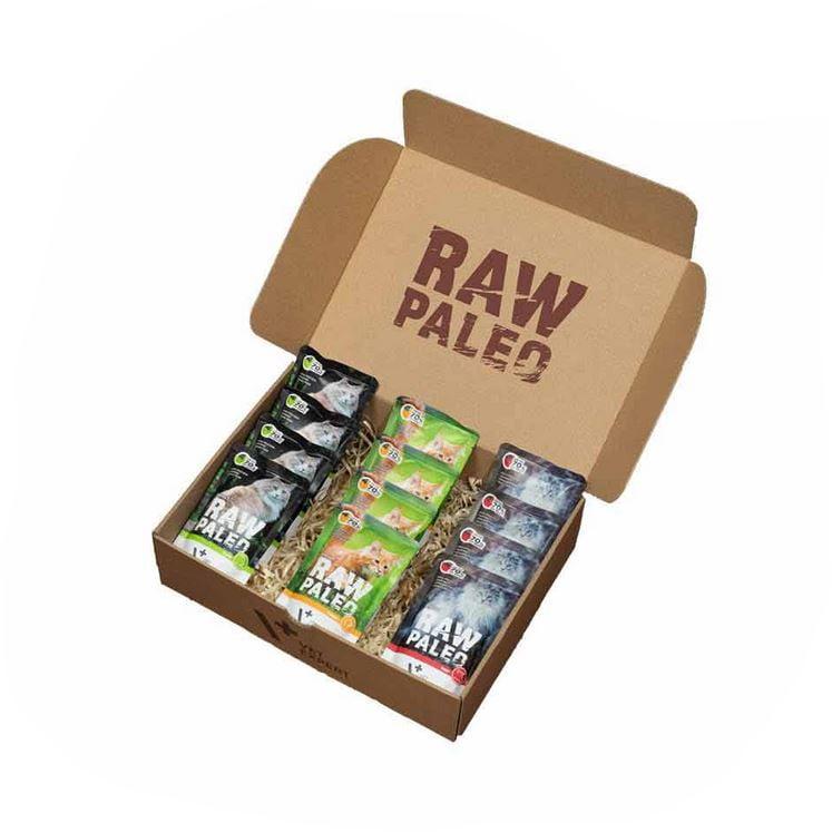 Raw Paleo Katze Adult monoprotein Katzenfutter, Getreidefreies, Taurin enthalten, hoher Proteingehalt