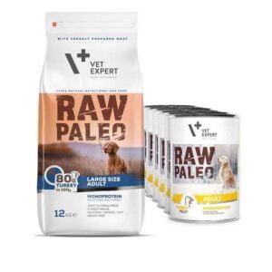 VetExpert Adult Large Hundefutter Nassfutter Premium getreidefreies Hundefutter, Alleinfuttermittel, Trockenfutter, Nassfutter, Hundebedarf, Hundenahrung, Hundeernährung