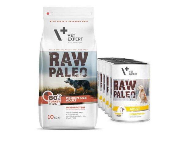 VetExpert Adult Medium Nassfutter Premium getreidefreies Hundefutter, Alleinfuttermittel, Trockenfutter, Nassfutter, Hundebedarf, Hundenahrung, Hundeernährung