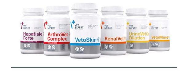 VetExpert Nahrungsergänzungen & Vitamine für Hunde & Katze