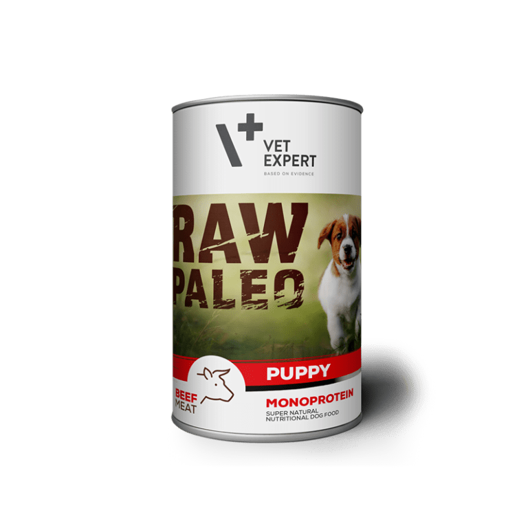 VetExpert Puppy Rind Nassfutter Premium getreidefreies Hundefutter, Alleinfuttermittel, Trockenfutter, Nassfutter, Hundebedarf, Hundenahrung, Hundeernährung