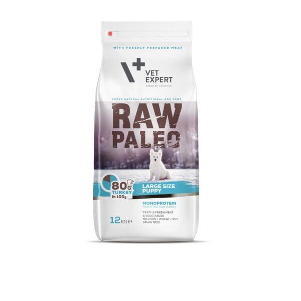 VetExpert Raw Paleo Adult Large Breed Puppy 12kg Premium getreidefreies Hundefutter, Alleinfuttermittel, Trockenfutter, Nassfutter, Hundebedarf, Hundenahrung, Hundeernährung