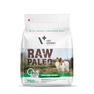 VetExpert Hundetrockenfutter Raw Paleo Adult Mini 750g Breed Premium getreidefreies Hundefutter, Alleinfuttermittel, Trockenfutter, Nassfutter, Hundebedarf, Hundenahrung, Hundeernährung