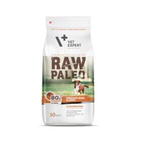 VetExpert Raw Paleo Puppy Medium Breed 10kg Premium getreidefreies Hundefutter, Alleinfuttermittel, Trockenfutter, Nassfutter, Hundebedarf, Hundenahrung, Hundeernährung