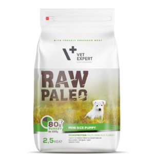 VetExpert Raw Paleo Puppy Mini Breed 2,5kg Hundefutter Premium getreidefreies Hundefutter, Alleinfuttermittel, Trockenfutter, Nassfutter, Hundebedarf, Hundenahrung, Hundeernährung