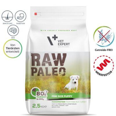 VetExpert Raw Paleo Puppy Mini Hundefutter