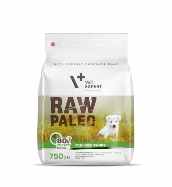VetExpert Raw Paleo Puppy Mini Breed 750g Hundefutter Premium getreidefreies Hundefutter, Alleinfuttermittel, Trockenfutter, Nassfutter, Hundebedarf, Hundenahrung, Hundeernährung