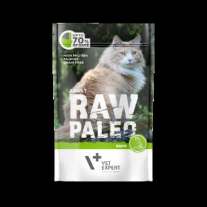 VetExpert RawPaleo Katze Adult Katzenfutter Wild Premium getreidefreies Katzenfutter, Alleinfuttermittel, Trockenfutter, Nassfutter, Katzenbedarf, Katzennahrung, Katzenernährung
