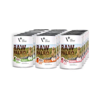 Raw Paleo Puppy Hundefutter Nassfutter Getreidefrei